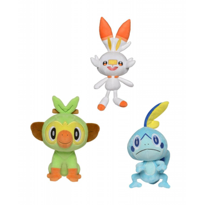 Pokémon Sword and Shield Plush Figures 20 cm