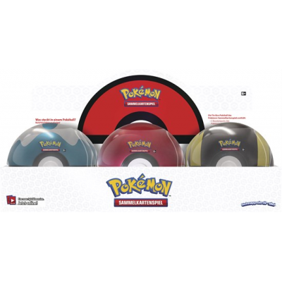 Pokemon Pokeball Tin Frühjahr 2020, Deutsch