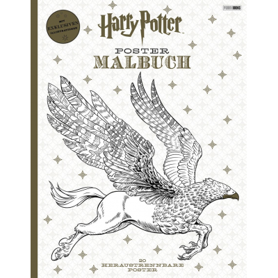 Harry Potter - Postermalbuch