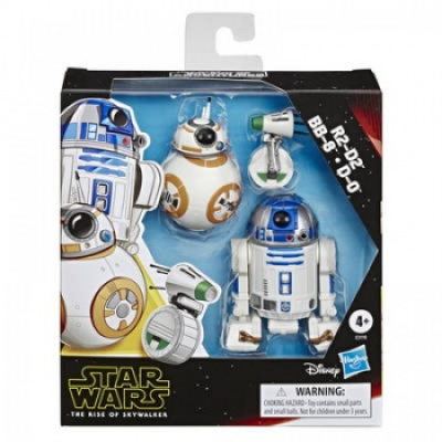 Star Wars Galaxy of Adventures R2-D2, BB-8, D-O...