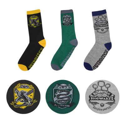 Harry Potter Socks 3-Pack Quidditch Hogwarts
