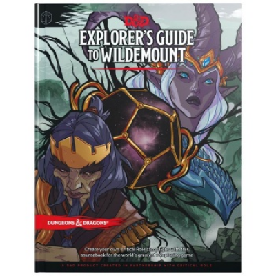 D&D Explorers Guide to Wildemount, English