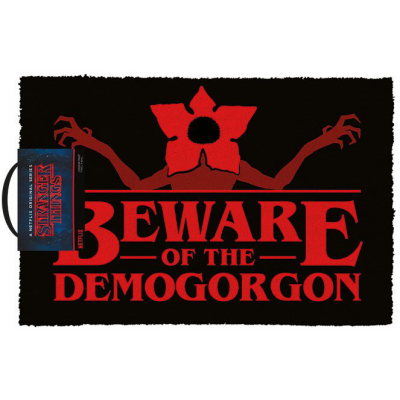 Stranger Things Doormat Beware of the Demogorgon 40 x 60 cm