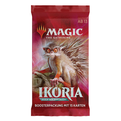 MTG - Ikoria: Reich der Behemoths Booster Pack, Deutsch