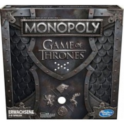 Game of Thrones Monopoly with sound, German