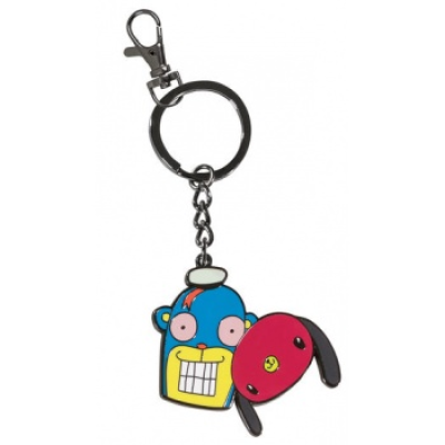 Umbrella Academy: Hazel and Cha Cha Keychain
