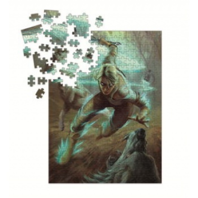 The Witcher 3 - Wild Hunt Puzzle: Ciri and the Wolves...