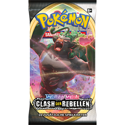 PKM - Sword and Shield 2: Clash of Rebels Booster Pack (GER)