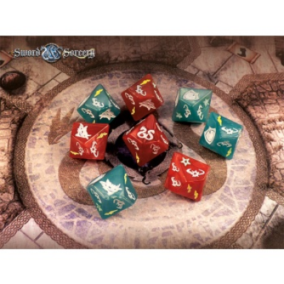 Sword & Sorcery – Custom Dice Pack