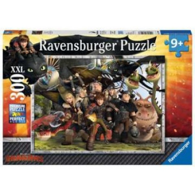 Puzzle How to Train your Dragon Treue Freunde 300 Teile