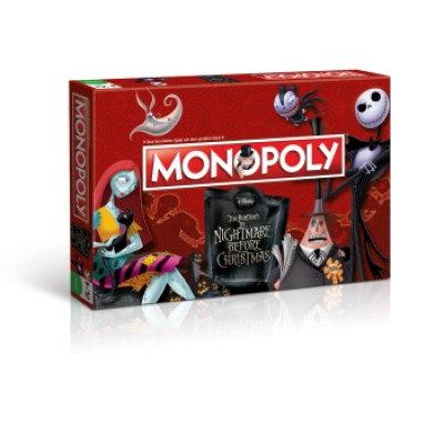 Monopoly Nightmare Before Christmas (DE)