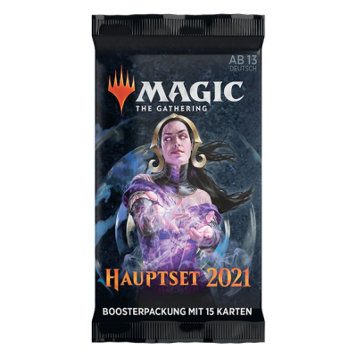 MTG - M21 Hauptset Draft Booster Pack, Deutsch