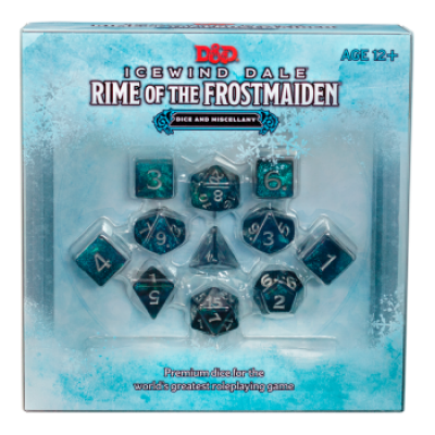 D&D Icewind Dale: Rime of the Frostmaiden Dice Set (EN)