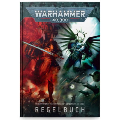 Warhammer 40,000 Core Rule Book 9. Edition (GER)