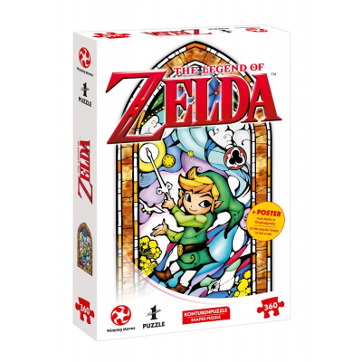The Legend of Zelda Jigsaw Puzzle Link Wind Waker