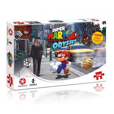 Super Mario Odyssey Jigsaw Puzzle New Donk City