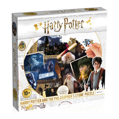 Harry Potter Jigsaw Puzzle Philosophers Stone