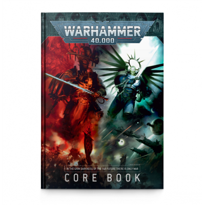 Warhammer 40,000 Core Rule Book 9. Edition (EN)