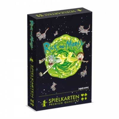 Number 1 Spielkarten Rick & Morty