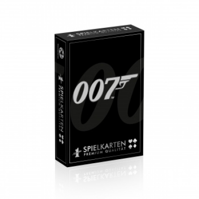 Number 1 Spielkarten James Bond