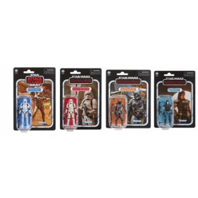 Star Wars E9 Vintage Actionfigures 10 cm