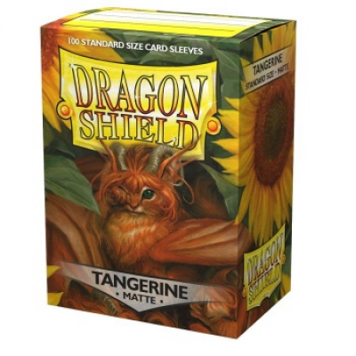 Dragon Shield Standard Sleeves - Matte Tangerine (100...