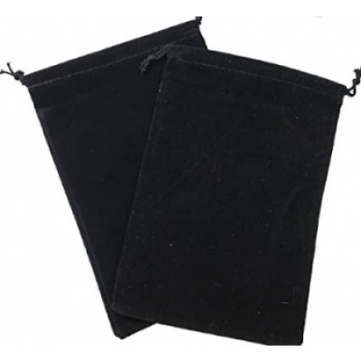 Chessex Large Suedecloth Dice Bags Black