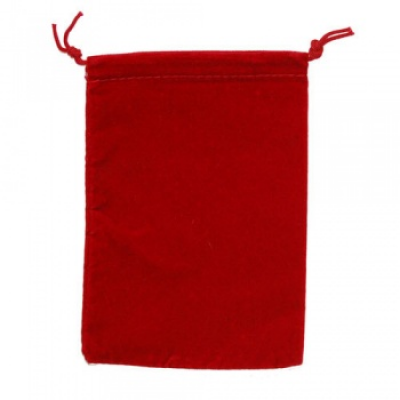 Chessex Large Suedecloth Dice Bags Red