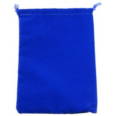 Chessex Large Suedecloth Dice Bags Royal Blue