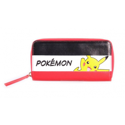 Pokémon Ladies Wallet Zip Around Pikachu