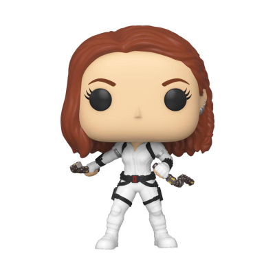 Black Widow POP! Marvel Vinyl Figure Black Widow (White...