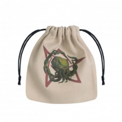 Call of Cthulhu Beige & multicolor Dice Bag