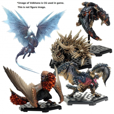 Monster Hunter Trading Figures 10 - 15 cm CFB MH Standard...