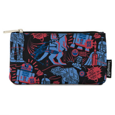 Star Wars by Loungefly Coin/Cosmetic Bag Empire Strikes...