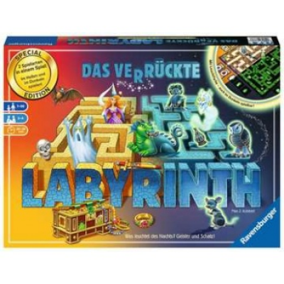 Das verrückte Labyrinth Glow in the Dark (DE)