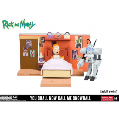 Rick and Morty Medium Bauset You Shall Now Call Me Snowball