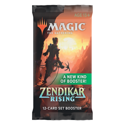 MTG - Zendikar Rising Set Booster Pack (EN)
