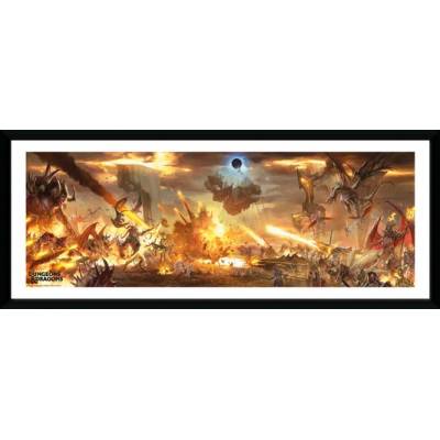 Dungeons & Dragons Battle Collector Print 30x75cm