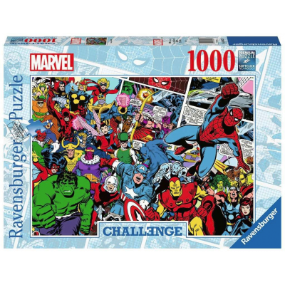 Marvel Challenge Jigsaw Puzzle Comics (1.000 pieces)