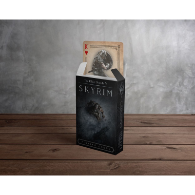 Elder Scrolls V Skyrim Playing Cards