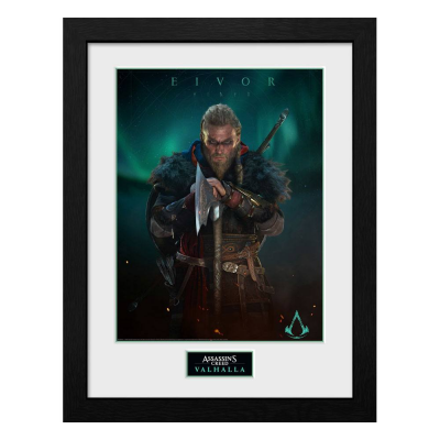 Assassins Creed Valhalla Collector Print Framed Poster Eivor