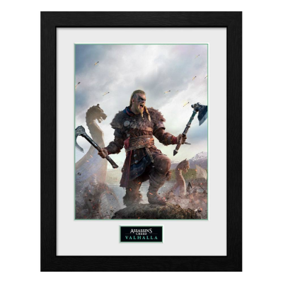 Assassins Creed Valhalla Collector Print Framed Poster...