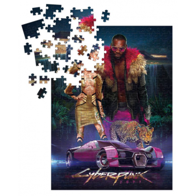 Cyberpunk 2077 Puzzle Neokitsch 1.000 pieces