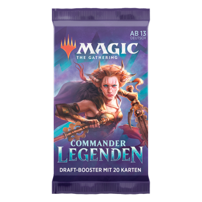 MTG - Commander Legenden Draft Booster Pack (DE)