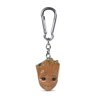 Guardians of the Galaxy 3D-Keychains Baby Groot 4 cm