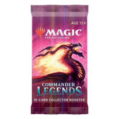 MTG - Commander Legenden Sammler Booster Pack (EN)