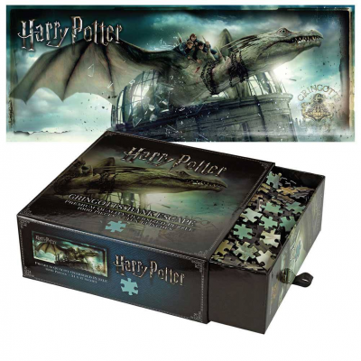Harry Potter Jigsaw Puzzle Gringotts Bank Escape