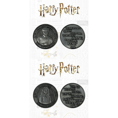 Harry Potter Collectable Coin 2-pack Dumbledores Army:...