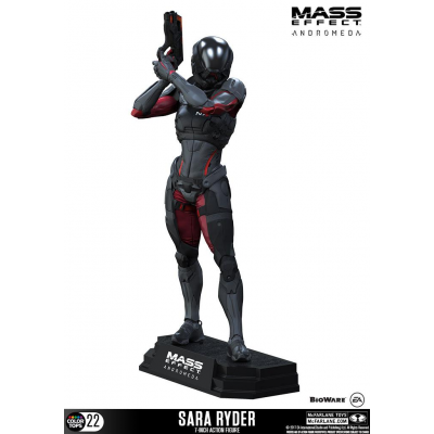 Mass Effect Andromeda Color Tops Actionfigur Sara Ryder...