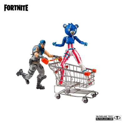 Fortnite Action Figures Shopping Cart Pack War Paint &...